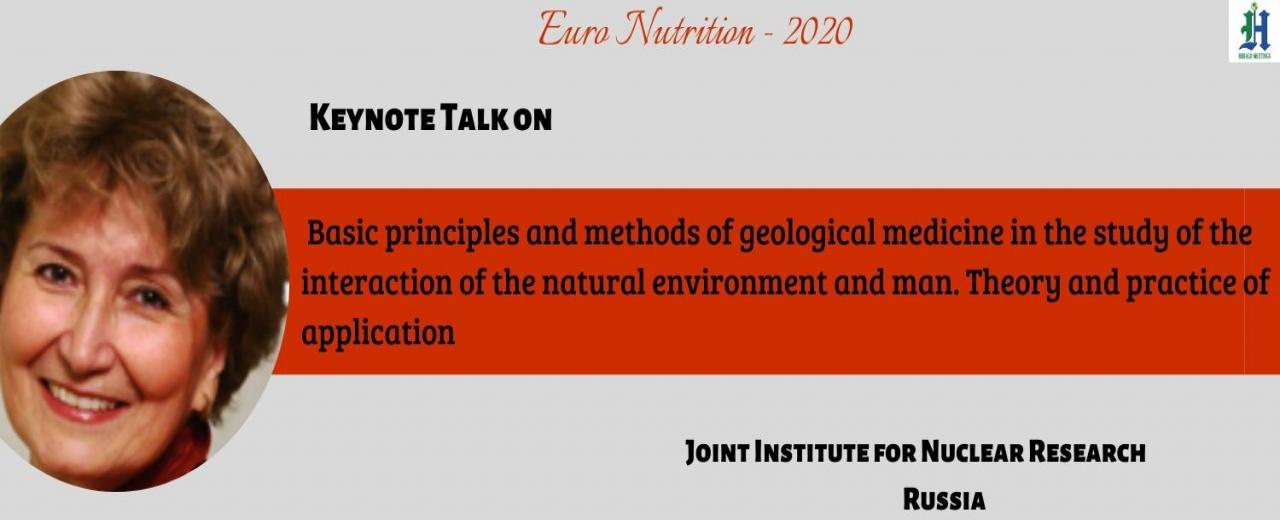 Euro Nutrition 2020, Nutrition Conferences, Italy